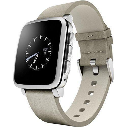 Oferta: 104.93€ Dto: -65%. Comprar Ofertas de Pebble Time Steel - Smartwatch (128 MB RAM, Li-ion, Android, 4.0, Bluetooth 4.0), color plateado barato. ¡Mira las ofertas!