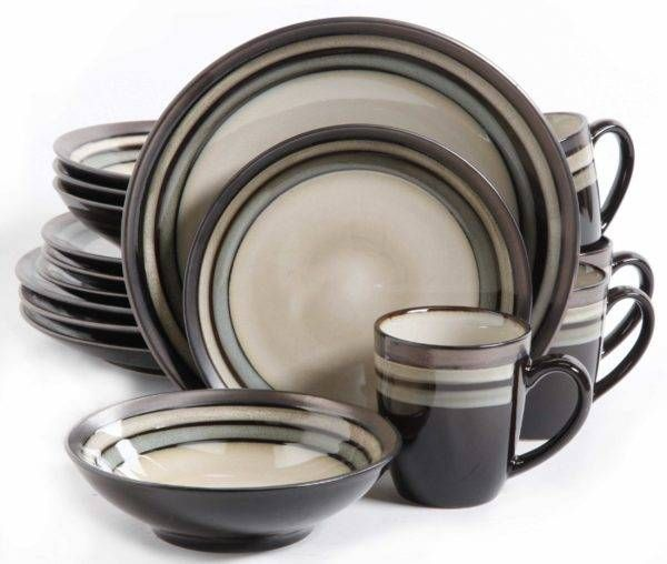Find your Gibson Elite Lewisville Neutral 16-Piece Dinnerware Set at Plum Street Pottery. Buy with confidence. Everyday low prices and no hassle returns.