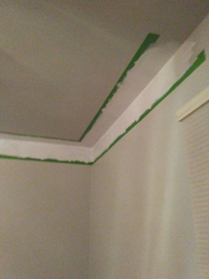 Detailed Crown Molding In Kitchen With Cabinet Bulkhead