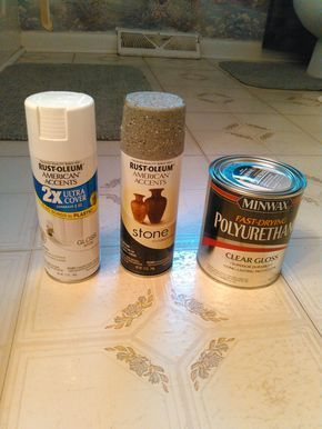 Bathroom Counter Top Remodel: Does Spray Paint Work ...