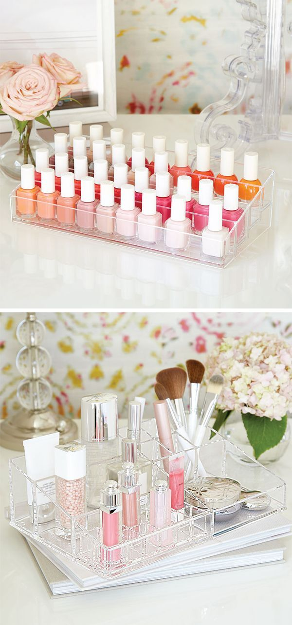 Our 40 Bottle Acrylic Nail Polish Riser And Luxe Acrylic Bath Solution Let  You Bring