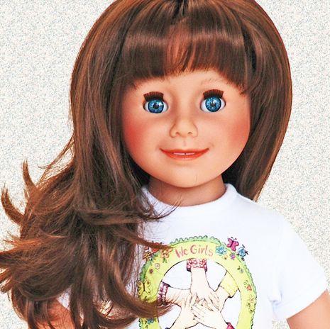 Lalka Nina z Klubu Dziewczyn Świata http://www.wegirls.pl/product.php/1,3/79/LALKA-NINA.html