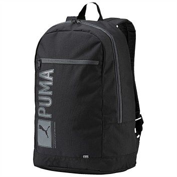 Rebel Sport - PUMA Pioneer Backpack Black 25 Litres