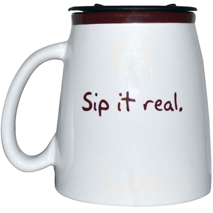 كوب من السيراميك للشاي كان عليه تخفيض واشتريته Now Foods, Ceramic Tea Mug