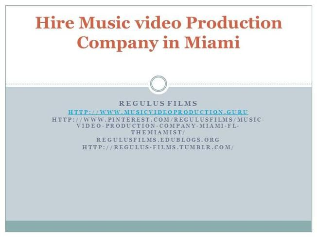 12 best new york music video production company images on pinterest hire miami best music video production company regulus films music video production companies miami fandeluxe Choice Image
