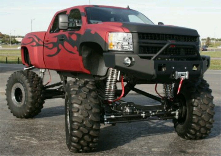 big lifted chevy trucks - photo #6