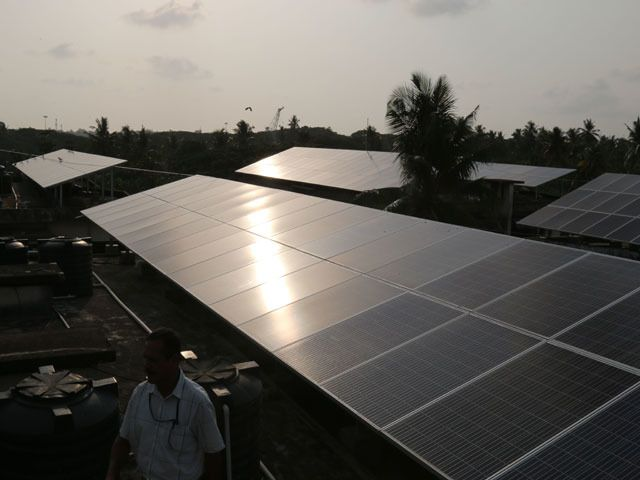 Tax dispute stalls solar panel cargoes delaying projects India is Chinas second-biggest market for solar equipment with imports worth $3.2 billion for the year ended March 31 according to Bloomberg New Energy Finance research. http://ift.tt/2z9cuz1