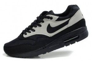Authentiek Nike Air Max 1 Heren zwart witte Schoenen