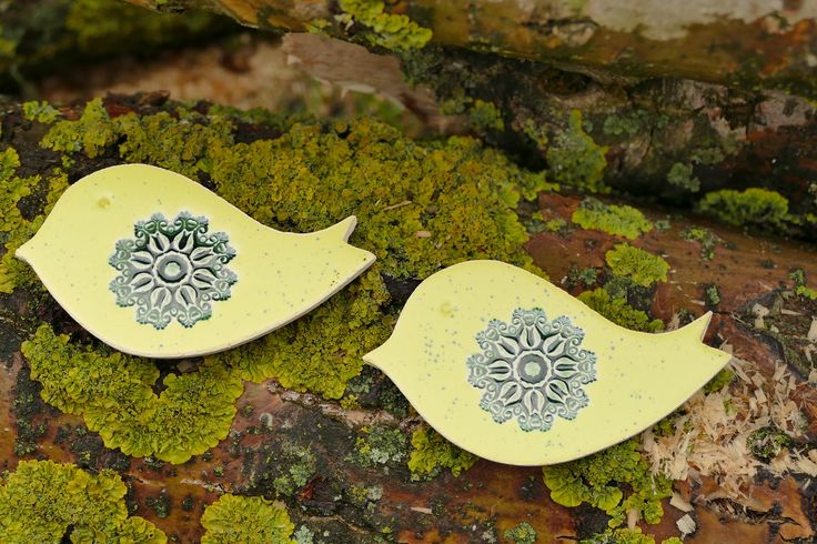 Ceramiczny ptaszek magnes