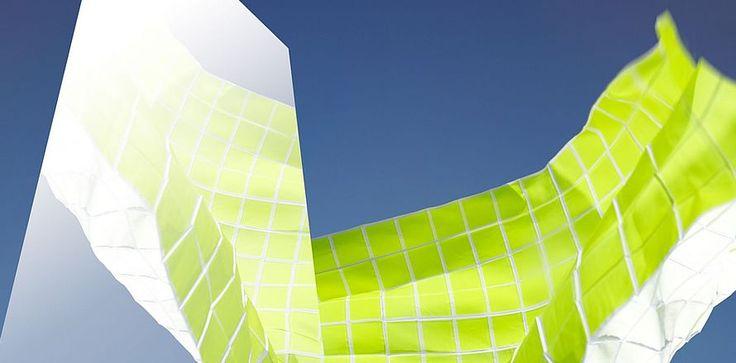 Kinnasand, design Reflect. Se alle brands her: http://fischer-danmark.dk/produkter/gardiner/