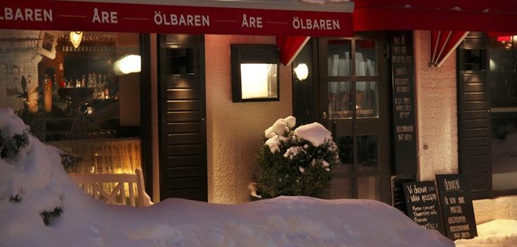 Ölbaren, Åre  Listed in White Guide.