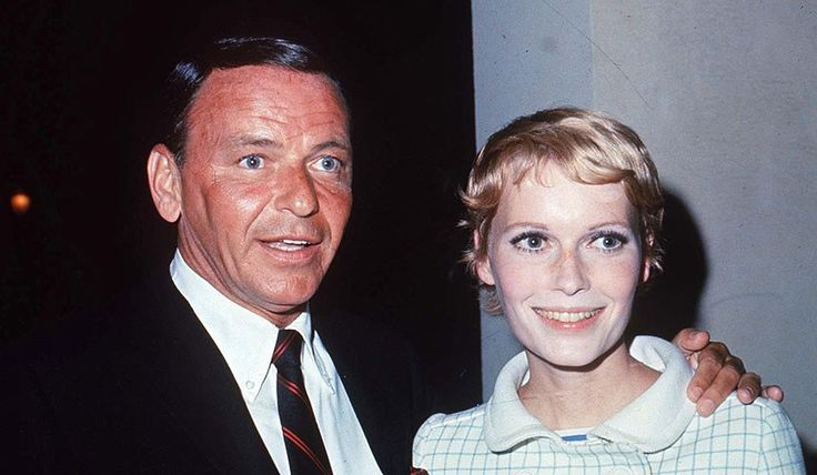 "Frank Sinatra and  Mia Farrow. While Mia Farrow was filming ""Rosemary's Baby,"" Frank Sinatra demanded a divorce. They were only married for two years from 1966 to 1968."