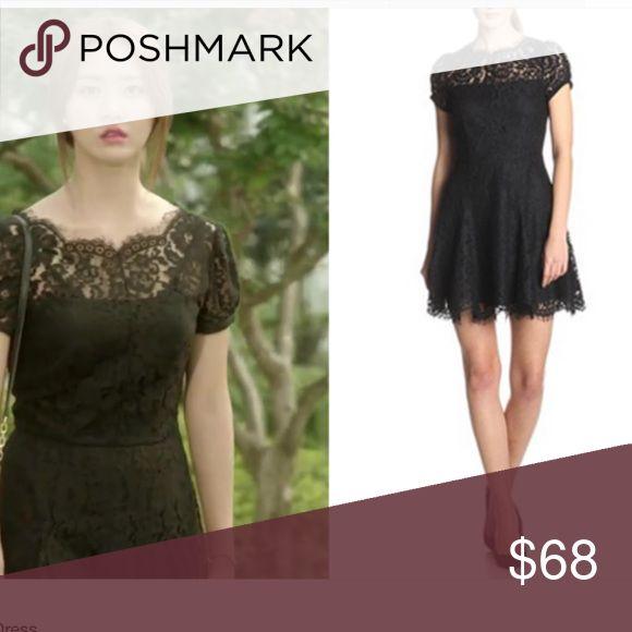 Juicy couture black lace dress Excellent condition Juicy Couture Dresses