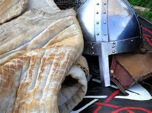 1066 Battle of Hastings Norman Knight's under chain mail jerking and ...