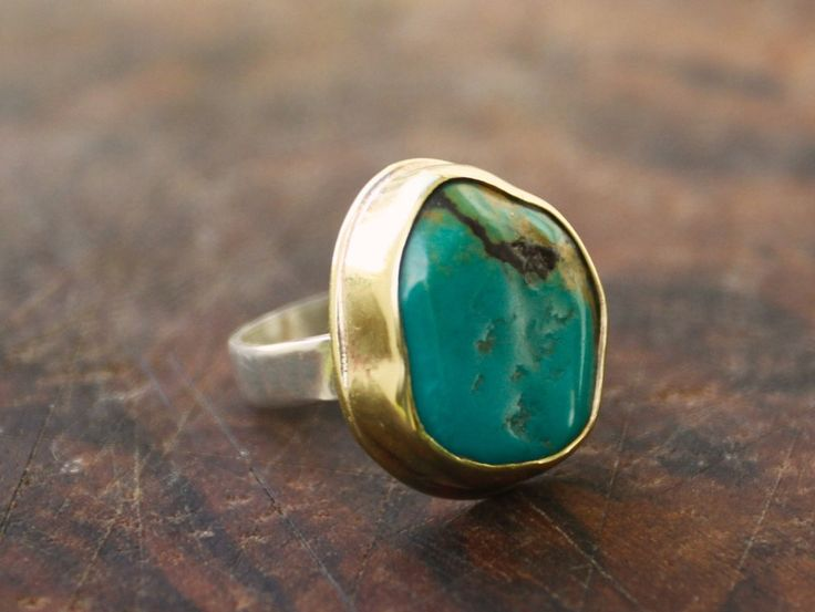 Popular items for mens turquoise ring on Etsy