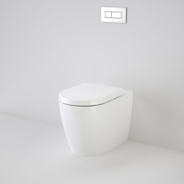 Urbane Wall Faced Invisi II Toilet Suite - As seen in Three Birds House 5 Main Bathroom & ensuite