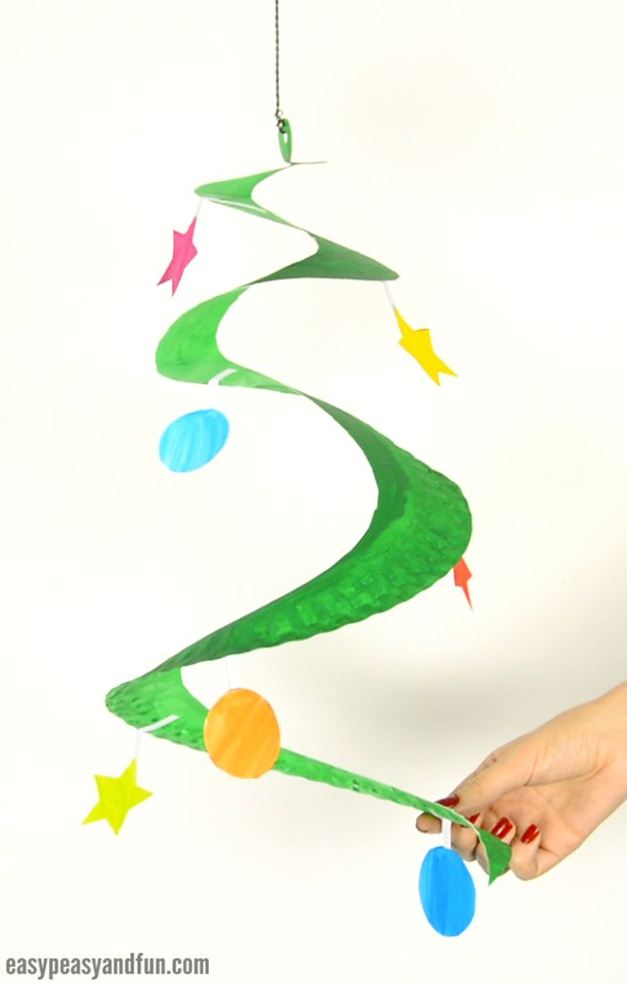 Swirling Paper Plate Christmas Tree Easy Peasy And Fun Winter Crafts For Kids Preschool Christmas Crafts Christmas Tree Crafts