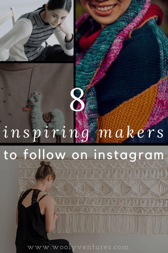 8 Inspiring Makers to Follow on Instagram - Wooly Ventures