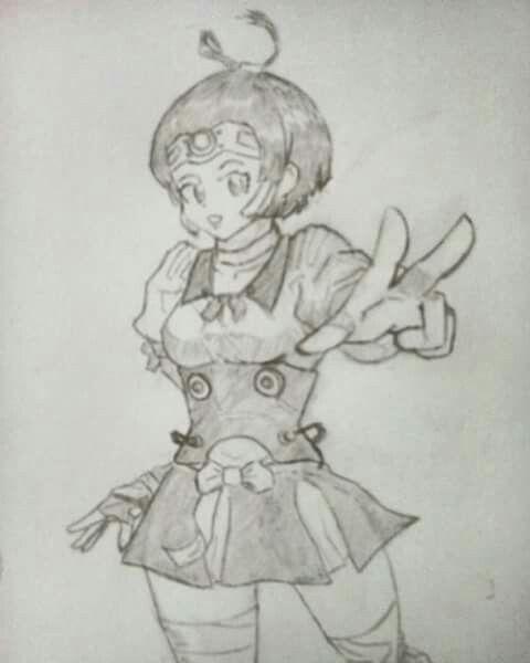 Koutetsujou no Kabaneri | Mumei, fanart by Joes Pal.