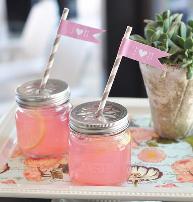 Cocktail Mason Jars - Small Mason Jars with Lids