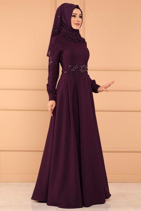 Modaselvim Elbise Gupuru Incili Pileli Elbise Msw8494 Murdum Elbise Elbise Modelleri Kadin Modasi Elbiseler
