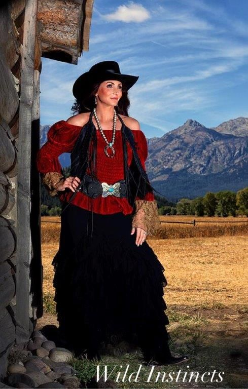 Country Western Blouses