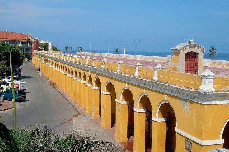 Sitios Turisticos de Cartagena de Indias Las Bovedas