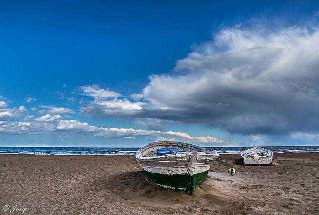 Llum del Mediterrani. / Luz del Mediterráneo. Platja de la Malvarrosa. #ComunidadValenciana #Spain