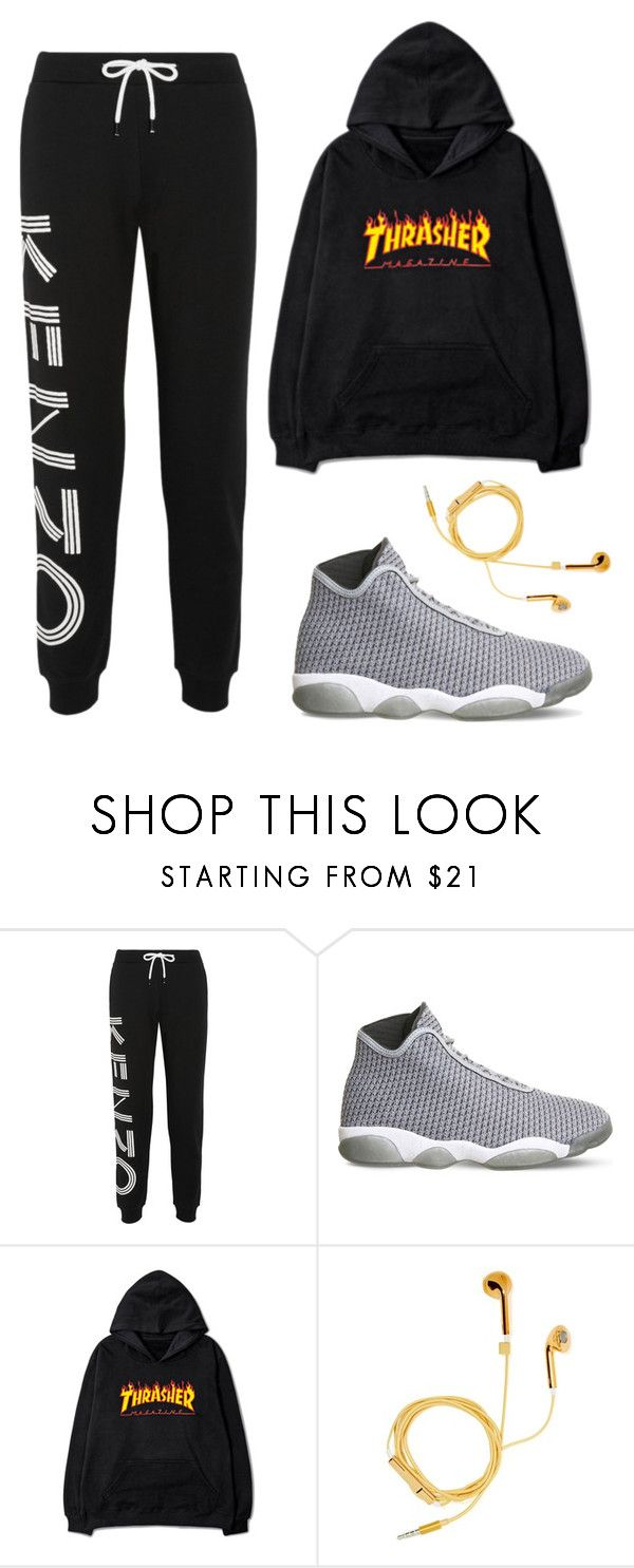 """""""Vernon X Dance Club"""" by jleeoutfitters ❤ liked on Polyvore featuring Kenzo, NIKE and PhunkeeTree"""