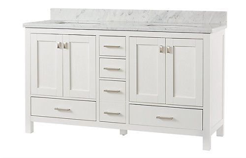 60 Inch Bathroom Vanity Home Depot.Home Decorators Collection Franklin Square Collection 60
