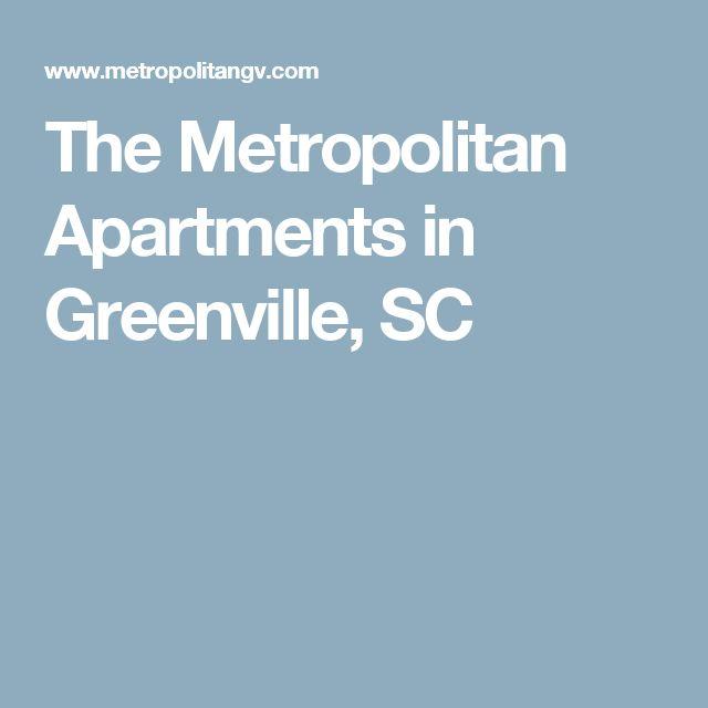 The Metropolitan Apartments in Greenville, SC