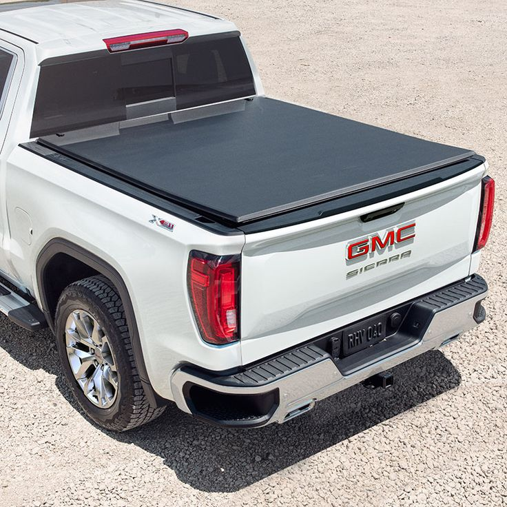 2019 Sierra 1500 Tonneau Cover, Soft RollUp, Black