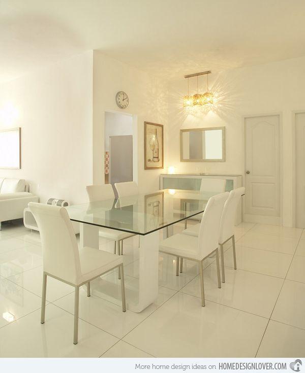 15 Modern Minimalist Dining Room Designs