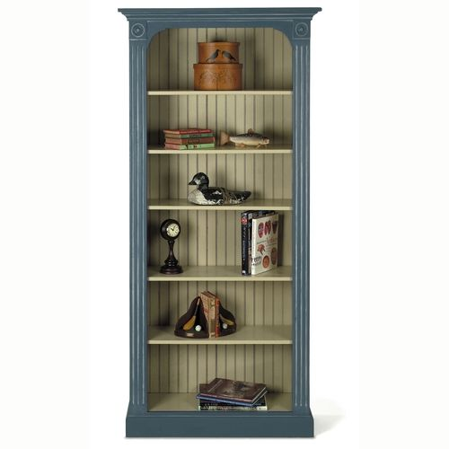 "Love the beadboard back.  ""Tall Cambridge Bookcase"" from American Country Home Store"
