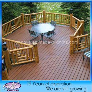 Wood plastic composite wpc garden outdoor decking fence for Plastic garden decking