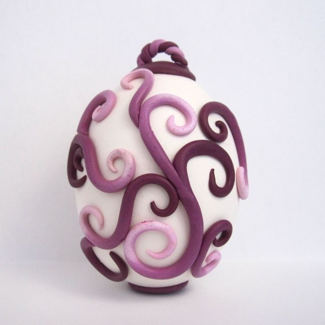 Creator's Joy: Polymer Clay Easter Eggs