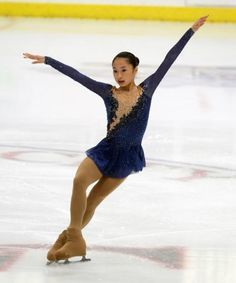 Vivian Le performing her free program to On Golden Pond, at the 2014 US Challenge Skate (Junior). (Source: Jay Adeff/icenetwork)