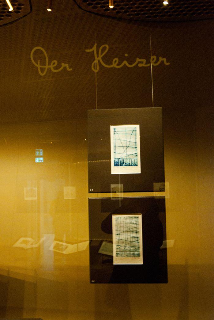 Kafka in artists' books. Exhibition of the Deutsches Buch- und Schriftmuseum at the German National Library (Deutsche Nationalbibliothek) in Leipzig.