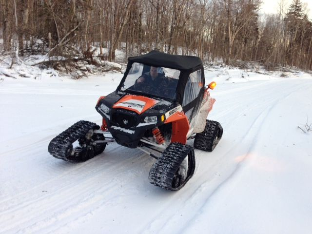 Rzr 900 Snow Tracks 4x4 Snowtracks Atv Accessories