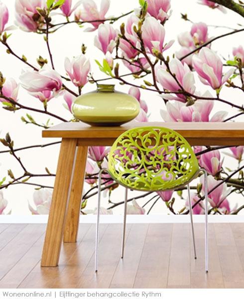 10 beste idee n over behang patronen op pinterest for Bloemen behang praxis