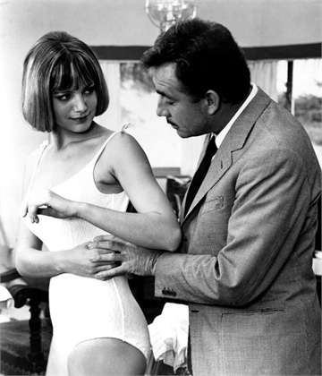 La voglia matta, 1962 Catherine Spaak e Ugo Tognazzi, regia di Luciano Salce © Everett Collection