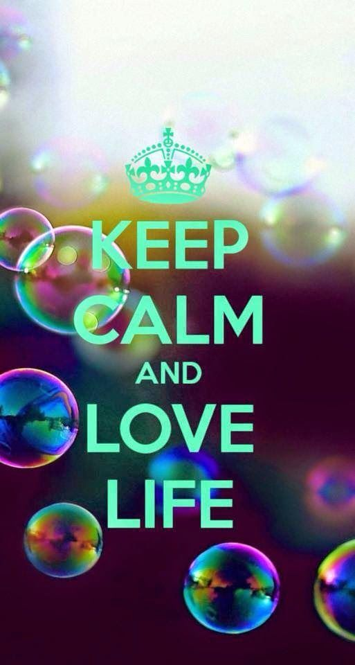 Keep Calm Quotes Keep Calm Baby and Love Life