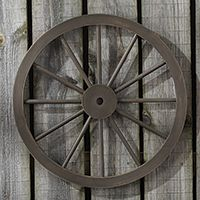 Signature Homestyles Wagon Wheel Wall Décor $40 Shop Now, Everyday, Wall Décor or Pg #24 in 2015 Fall/Christmas Idea Book