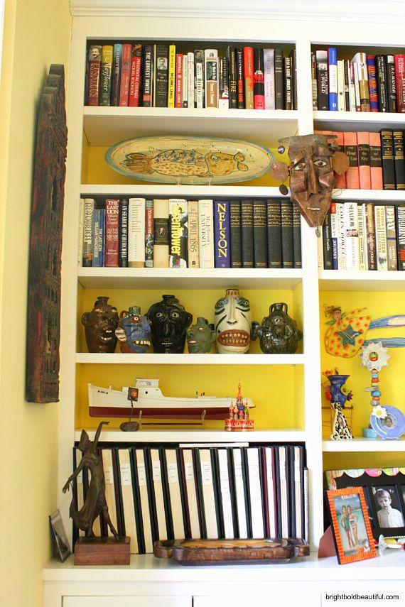 bookshelf styling ideas
