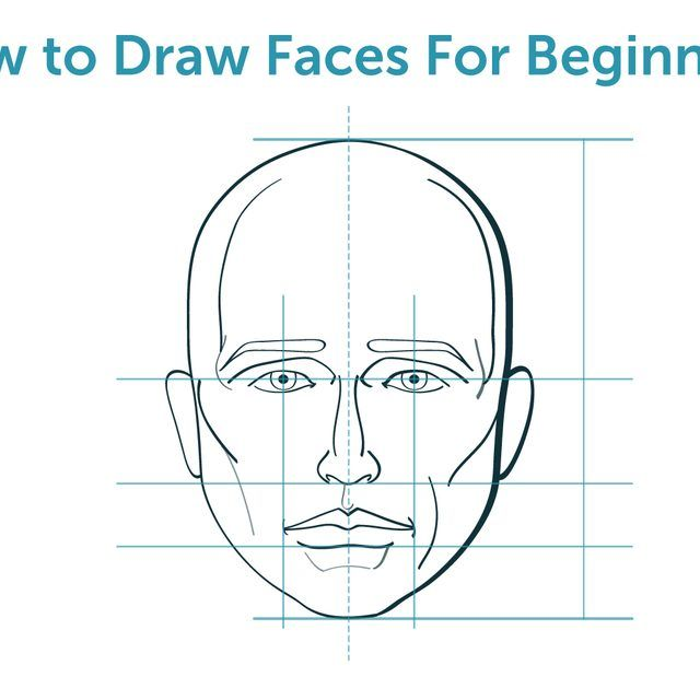 how to draw a cartoon elephant face