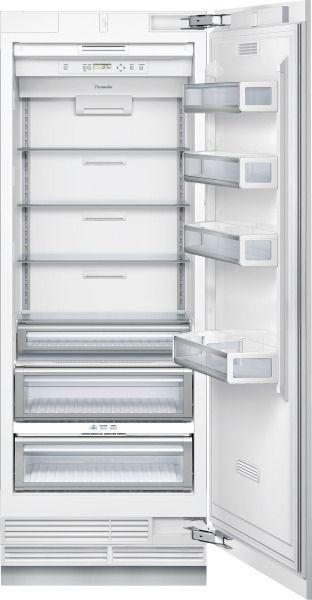 Réfrigérateur congélateur à usage résidentiel / armoire / en inox / encastrable T30IR800SP  Thermador