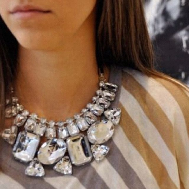 Necklace: Fashion, Statement Necklaces, Style, Statement Piece, Jewelry, Bib Necklaces, Bling Bling