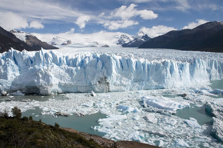 Venture to the end of the world in Patagonia. The Perito Moreno glacier is the world's third largest reserve of fresh water, pack your woolies and trek over the ice for unforgettable views.