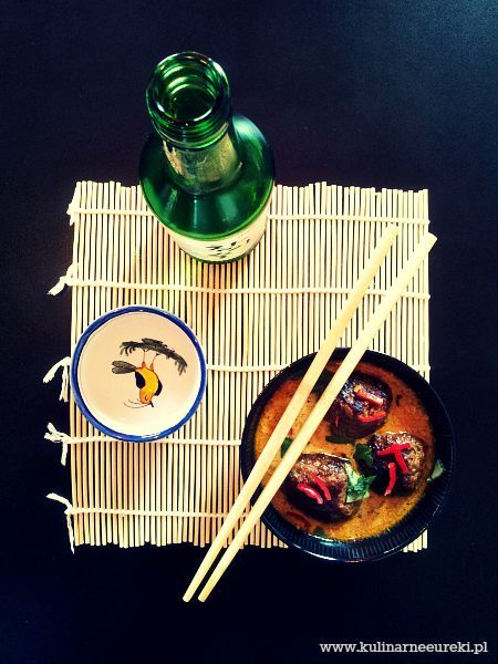 Aromatyczna zupa azjatycka