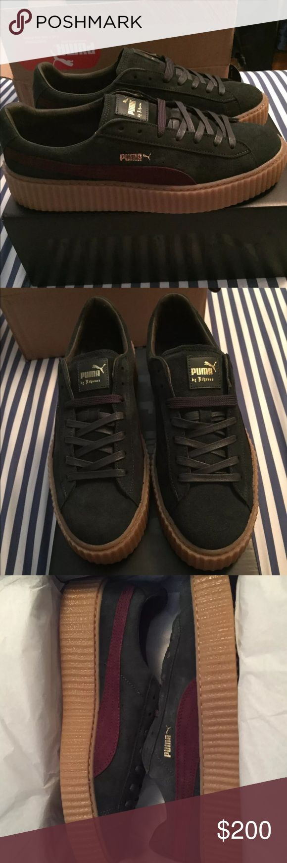 puma creepers mens size 11